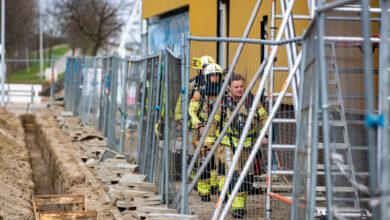 Photo of Brand op dak WRZV-nieuwbouw snel onder controle