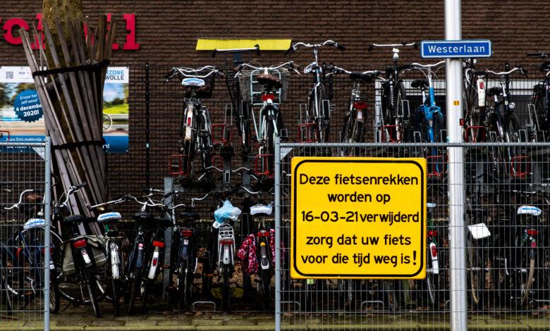 Photo of Verwijderen fietsenrekken Westerlaan tot 16 maart uitgesteld