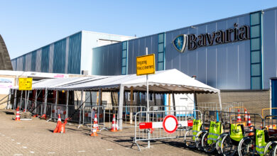 Photo of IJsselhallen vaccinatielocatie per direct dicht door onveilig plafond