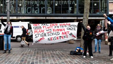 Photo of Jongeren protesteren tegen leenstelsel