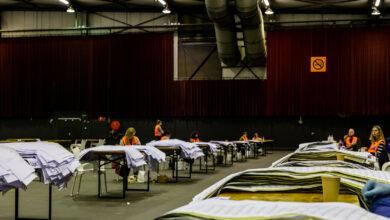 Photo of Het stemmen tellen in de IJsselhallen is begonnen