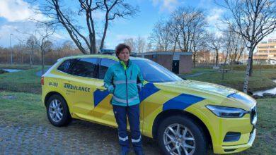 Photo of Assistenten team bij huisartsenpost Zwolle in een nieuw jasje