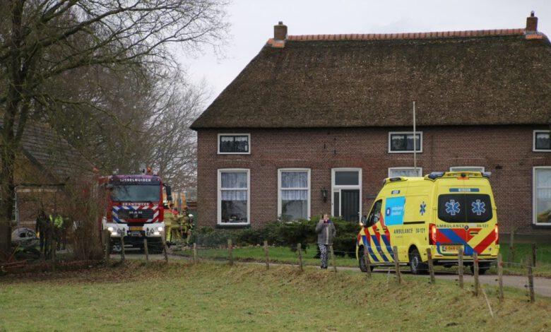 Photo of Schuurbrandje in 's-Heerenbroek snel geblust