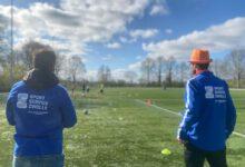 Photo of Kinderen zijn actief in de weer met de koningsspelen 2021