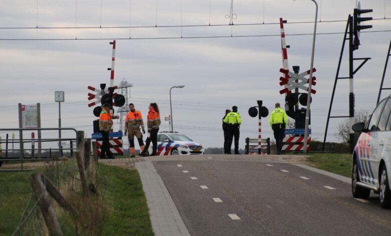 Photo of Aanrijding op overweg Maatgravenweg