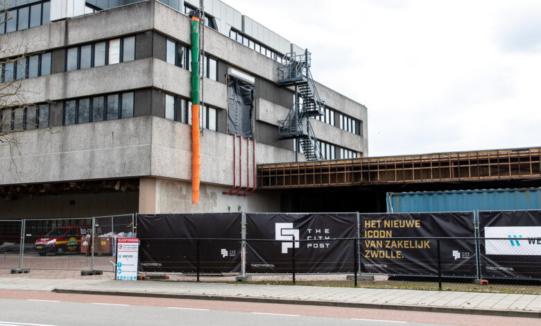 Photo of Werkzaamheden The City Post Zwolle gestart