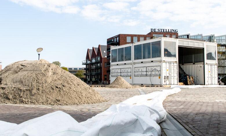 Photo of Het stadsstrand wordt weer opgebouwd