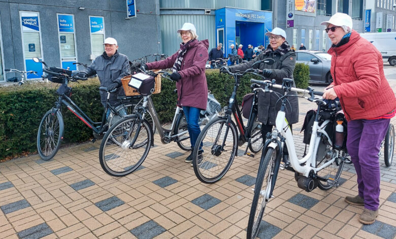 Photo of Vitale Oldstars trappen 50 kilometer weg rondom Zwolle
