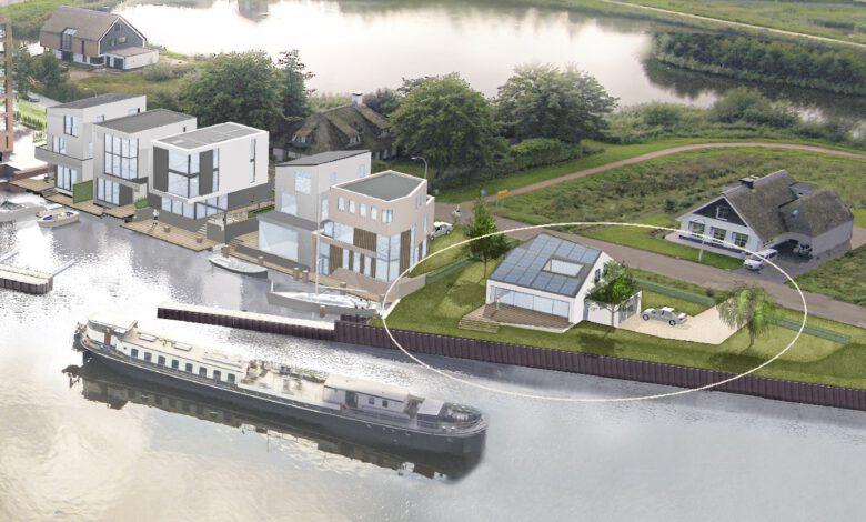 Photo of Kavel aan het Zwarte Water in Frankhuis te koop
