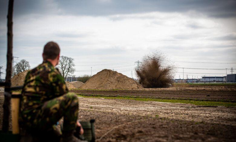 Photo of Tweede Wereldoorlog granaat onschadelijk gemaakt op Hessenpoort