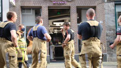 Photo of Etenslucht aangezien voor brandlucht bij winkel Diezerstraat