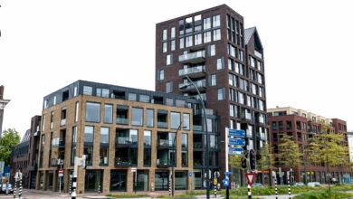 Photo of Woningcomplex met 84 woningen opgeleverd aan de Zwolse stadsgracht