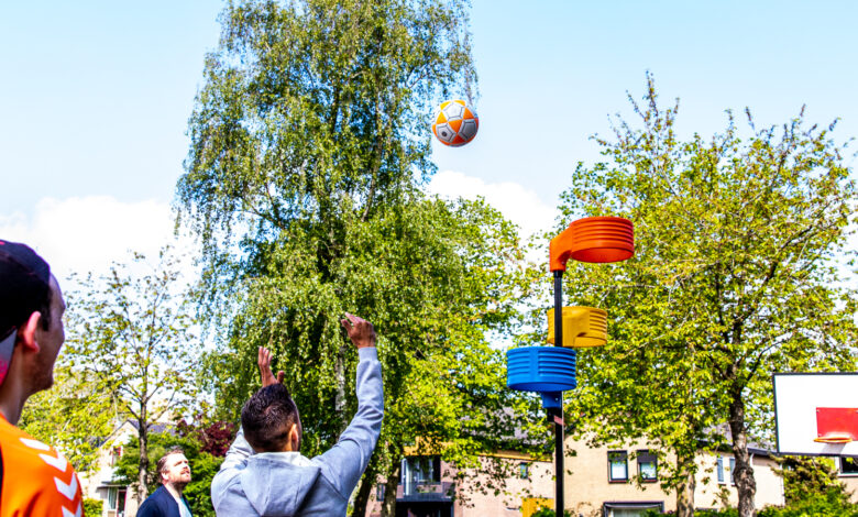 Photo of De Campherbeek gaat van tulpenbol naar korfbalboom