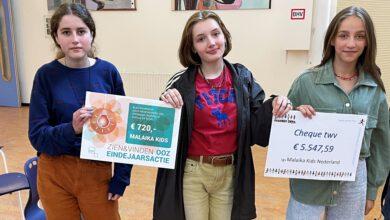Photo of Celeanum haalt recordbedrag van 6268 euro op voor Malaika Kids