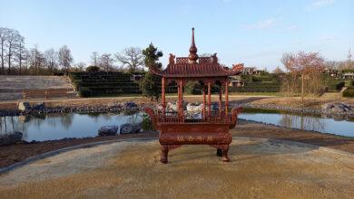Photo of Nieuw deel Chinese begraafplaats in Zwolle klaar