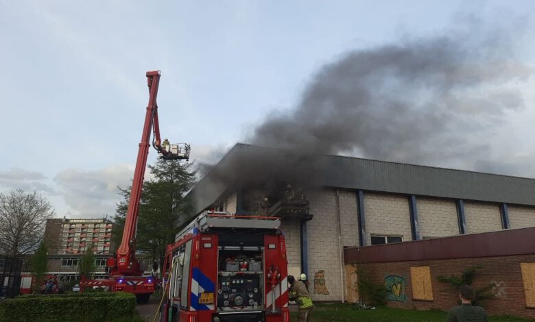 Photo of Brand in Stilohallen onder controle
