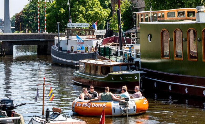 Photo of In beeld: Zwolle genoot van het zomerse weer