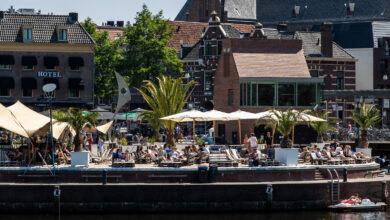 Photo of Krijgt het stadsstrand van Zwolle een 'Gaudi'- of 'Christo'achtige beachclub?