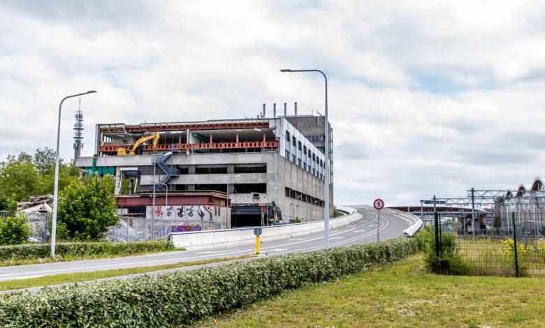 Photo of Ontmanteling voormalig PTT gebouw in volle gang