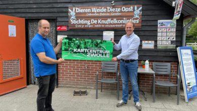 Photo of Kartcentrum Zwolle doneert 40 ontmoetingen aan Stichting De Knuffelkonijntjes: