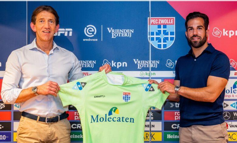 Photo of Kostas Lamprou naar PEC Zwolle