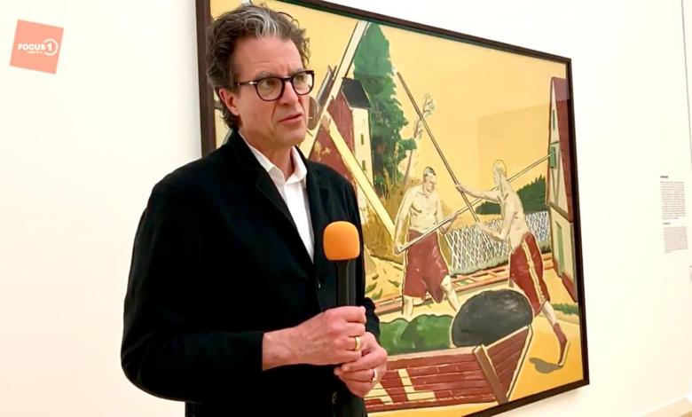 Photo of Museumdirecteur Ralph Keuning en popmuzikant MINKA winnaars cultuurprijzen Overijssel