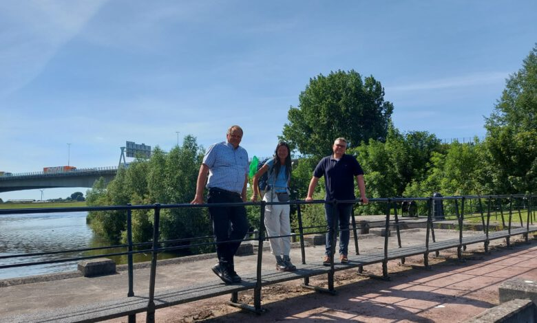 Photo of 127 kilometer langs de IJssel lopen voor een drinkbare IJssel