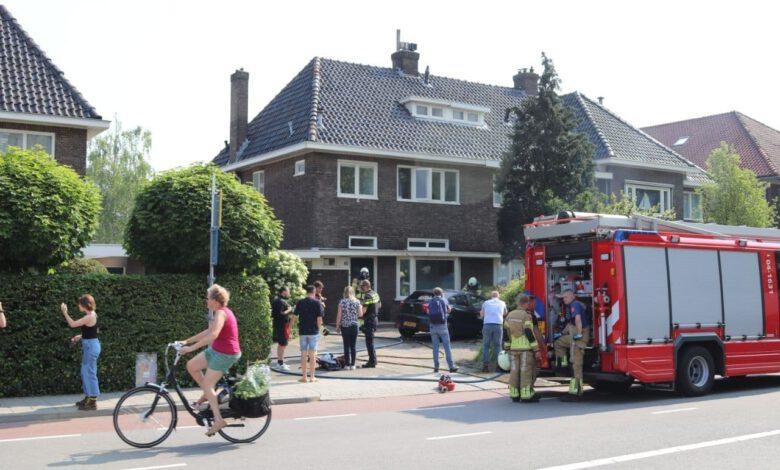 Photo of Voertuigbrand op Westerlaan in Zwolle