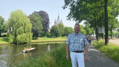 Photo of Reinier Mulder: 25 jaar gemeenteraadslid in Zwolle