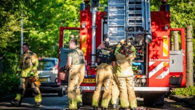 Photo of Flinke schuurbrand in de Veerallee buurt Zwolle
