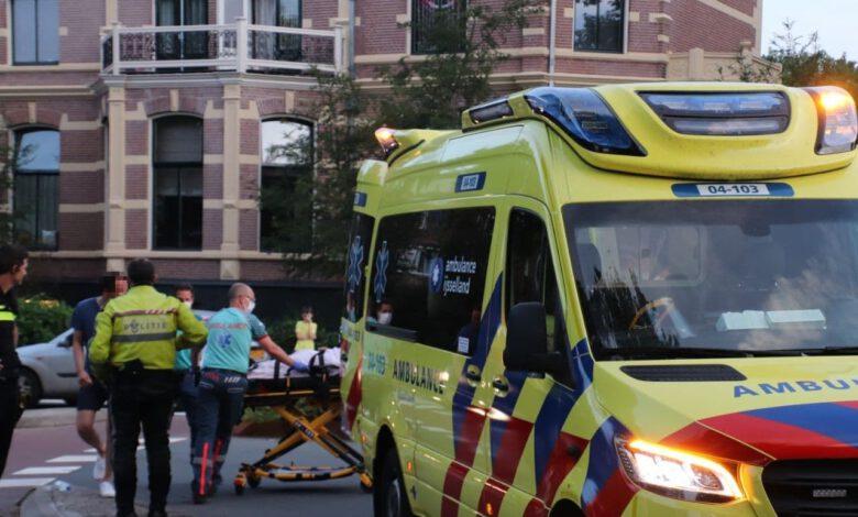 Photo of Fietsster gewond bij aanrijding op fietsrotonde