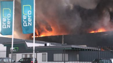 Photo of Zeer grote brand bij PreZero op Hessenpoort