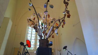 Photo of De stikstofboom in Zwolle tijdens de IJsselbiënnale