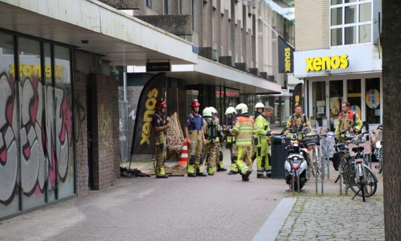 Photo of Gaslek gooit Broerenkwartier centrum Zwolle paar uur op slot