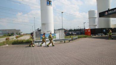 Photo of Inzet brandweer na uitstroom vloeibare kooldioxide op Hessenpoort