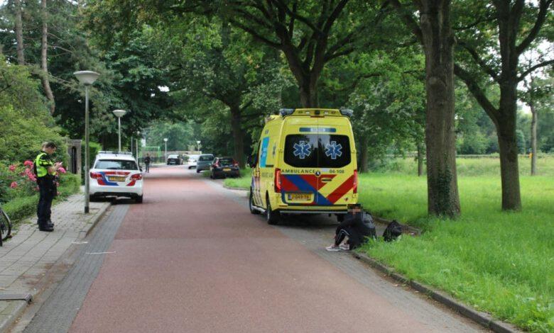 Photo of Jonge fietser ten val op Spoolderbergweg