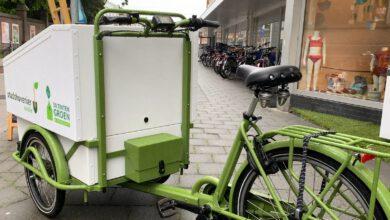 Photo of Elektrische groene bakfiets voor bewoners en ondernemers Assendorp