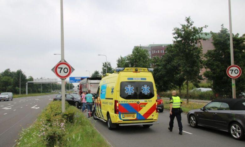 Photo of Hulpdiensten uitgerukt naar ongeval Ceintuurbaan