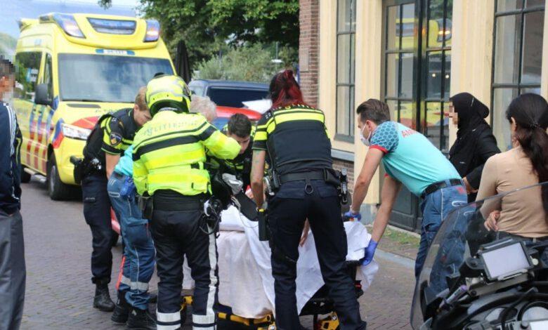 Photo of Scooterrijder gewond bij ongeval in binnenstad