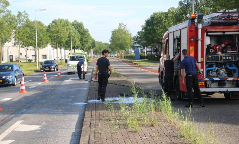 Photo of Brandweer verwijdert dieselspoor Marsweg
