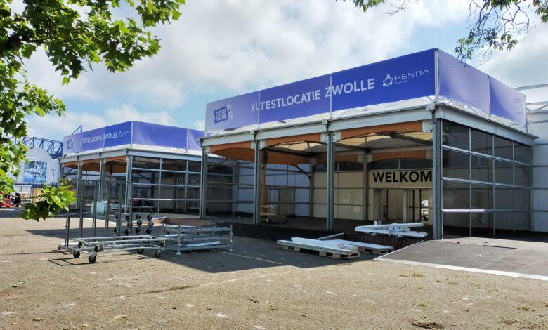 Photo of XL-teststraat Zwolle wordt weer afgebroken