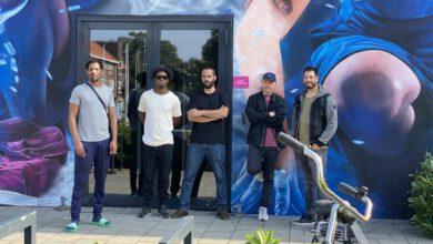 Photo of Spectaculaire muurschildering met 'Tijgers & Draken' op gevel poppodium Hedon