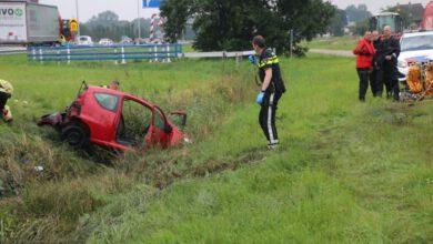 Photo of Ernstig ongeluk gebeurd op A28 ter hoogte van Zwolle