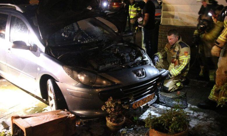Photo of Autobrand aan de Tichelmeesterlaan
