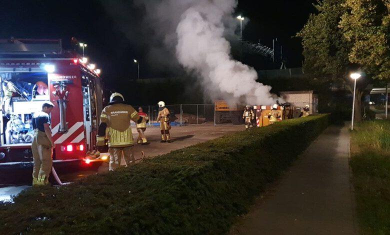 Photo of Drie containerbranden in één nacht