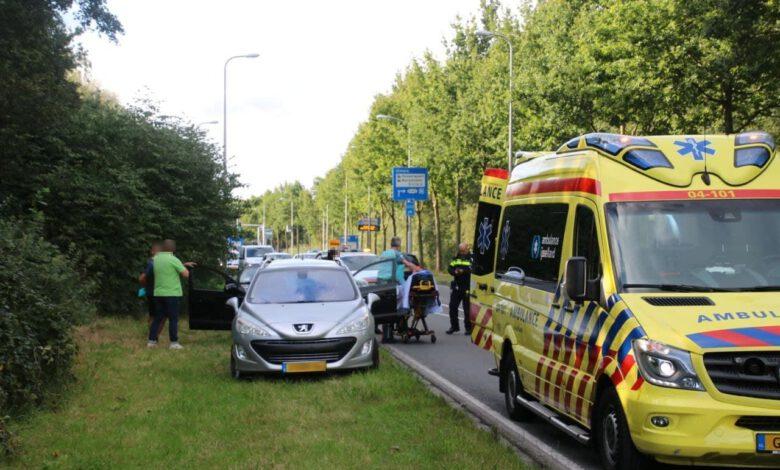 Photo of Botsing op de Wijheseweg in Zwolle