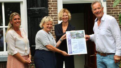 Photo of Erfgoedprijs Zwolle-Kampen 2021 voor Zunnebeltweg 7 in Langenholte