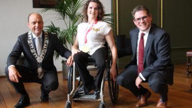 Photo of Koninklijke Onderscheiding voor paralympische sporter Jitske Visser