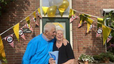 Photo of Echtpaar Rabel 60 jaar getrouwd