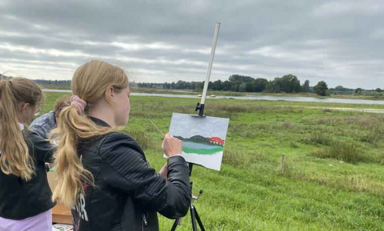 Photo of Schilder Jan Voerman weer tot leven aan de IJssel